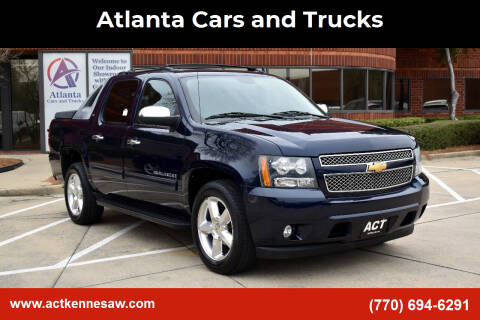 2012 Chevrolet Avalanche for sale at Atlanta Cars and Trucks in Kennesaw GA
