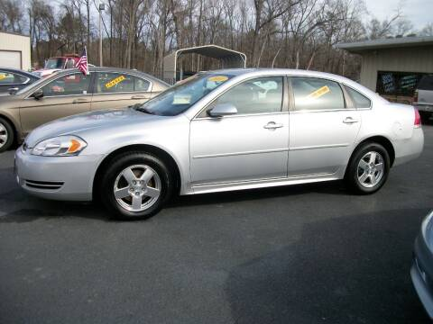 2011 Chevrolet Impala for sale at Lentz's Auto Sales in Albemarle NC