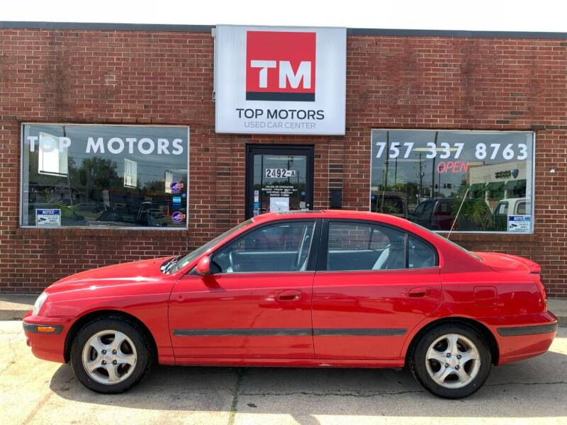 2004 Hyundai Elantra for sale at Top Motors LLC in Portsmouth VA