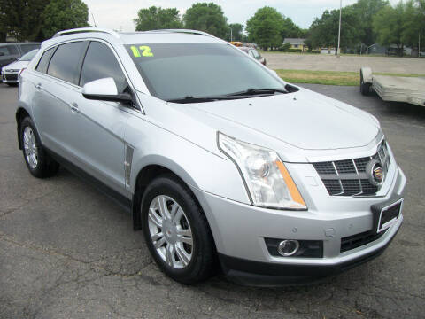 2012 Cadillac SRX for sale at USED CAR FACTORY in Janesville WI