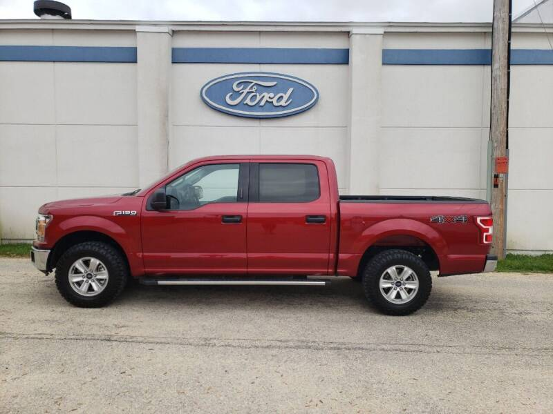 2019 Ford F-150 for sale at Welterlen Motors in Edgewood IA