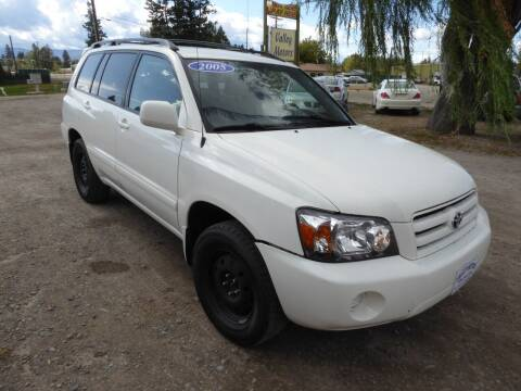 2005 Toyota Highlander for sale at VALLEY MOTORS in Kalispell MT