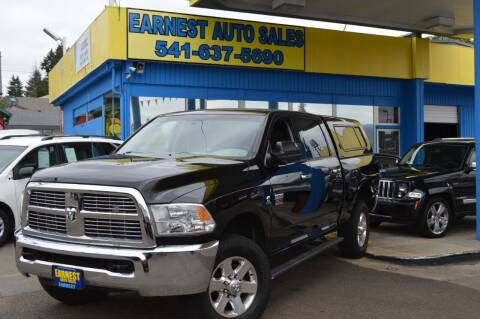 2012 RAM Ram Pickup 3500 for sale at Earnest Auto Sales in Roseburg OR
