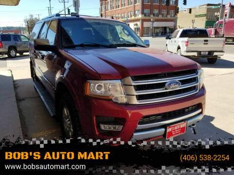 2016 Ford Expedition EL for sale at BOB'S AUTO MART in Lewistown MT