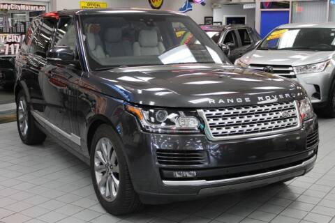 2017 Land Rover Range Rover for sale at Windy City Motors in Chicago IL