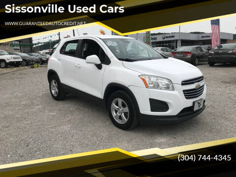 2016 Chevrolet Trax for sale at Sissonville Used Cars in Charleston WV