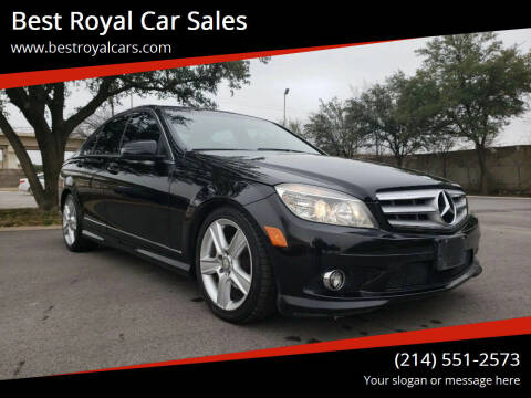 2010 Mercedes-Benz C-Class for sale at Best Royal Car Sales in Dallas TX