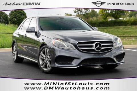 2015 Mercedes-Benz E-Class for sale at Autohaus Group of St. Louis MO - 3015 South Hanley Road Lot in Saint Louis MO