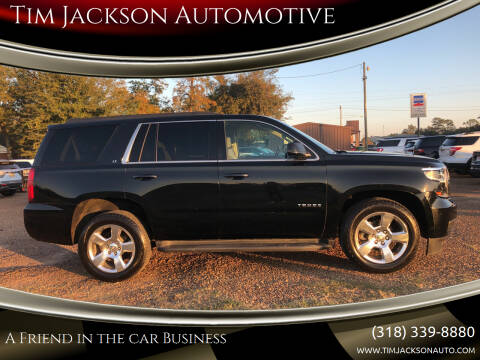 2015 Chevrolet Tahoe for sale at Tim Jackson Automotive in Jonesville LA