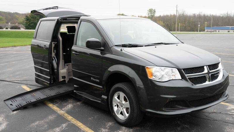 2012 Dodge Grand Caravan for sale at A&J Mobility in Valders WI