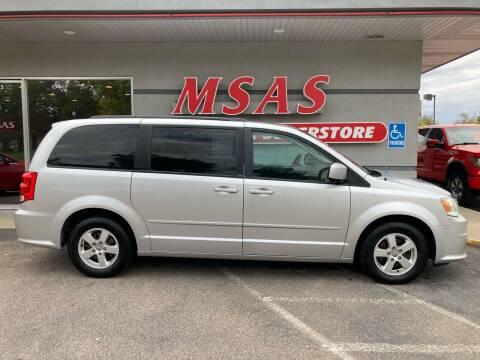 2012 Dodge Grand Caravan for sale at MSAS AUTO SALES in Grand Island NE