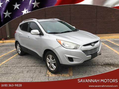 2011 Hyundai Tucson for sale at Savannah Motors in Cahokia IL