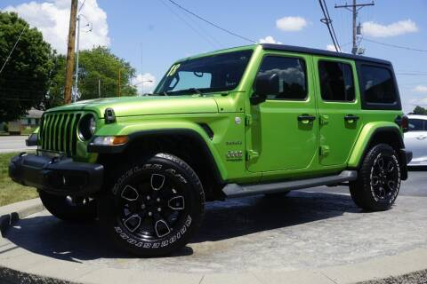 2018 Jeep Wrangler Unlimited for sale at Platinum Motors LLC in Heath OH