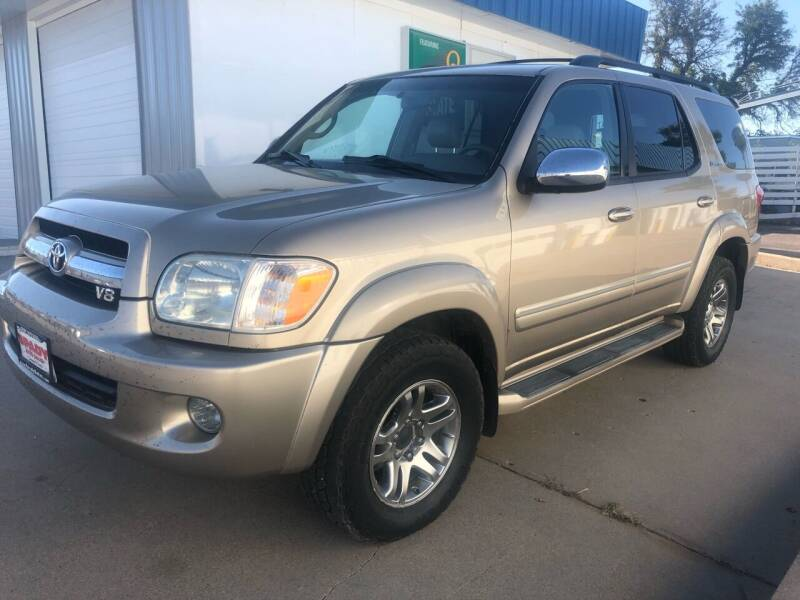 2007 Toyota Sequoia for sale at Spady Used Cars in Holdrege NE