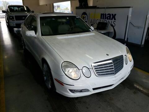 2008 Mercedes-Benz E-Class for sale at MCHENRY AUTO SALES in Modesto CA
