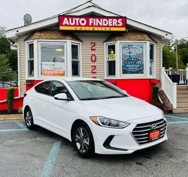 2017 Hyundai Elantra for sale at Auto Finders Unlimited LLC in Vineland NJ