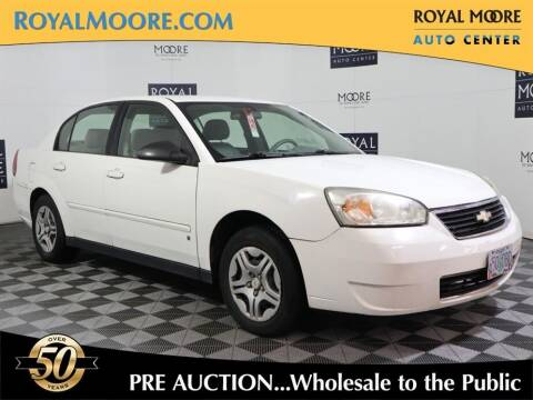 2007 Chevrolet Malibu for sale at Royal Moore Custom Finance in Hillsboro OR