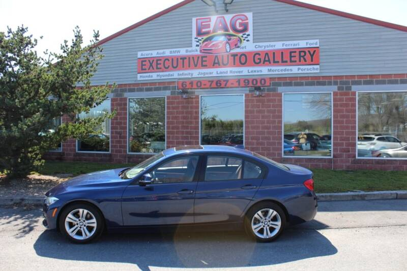 2016 BMW 3 Series for sale at EXECUTIVE AUTO GALLERY INC in Walnutport PA