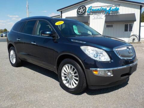 2009 Buick Enclave for sale at Country Auto in Huntsville OH