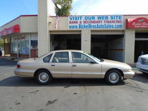 1995 Chevrolet Caprice for sale at Bickel Bros Auto Sales, Inc in Louisville KY