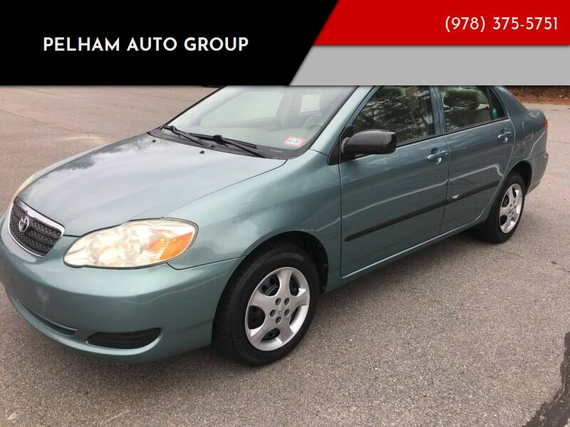 2006 Toyota Corolla for sale at Pelham Auto Group in Pelham NH