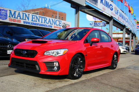 2019 Subaru WRX for sale at MIKEY AUTO INC in Hollis NY