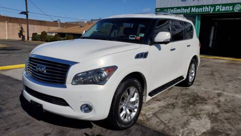 2011 Infiniti QX56 for sale at MFT Auction in Lodi NJ