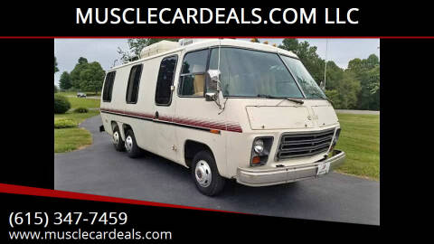 1976 GMC 23 Foot GMC Motorhome for sale at MUSCLECARDEALS.COM LLC - 1 in White Bluff TN