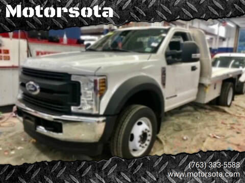 2018 Ford F-450 Super Duty for sale at Motorsota in Becker MN