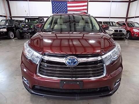 2015 Toyota Highlander Hybrid for sale at Texas Motor Sport in Houston TX