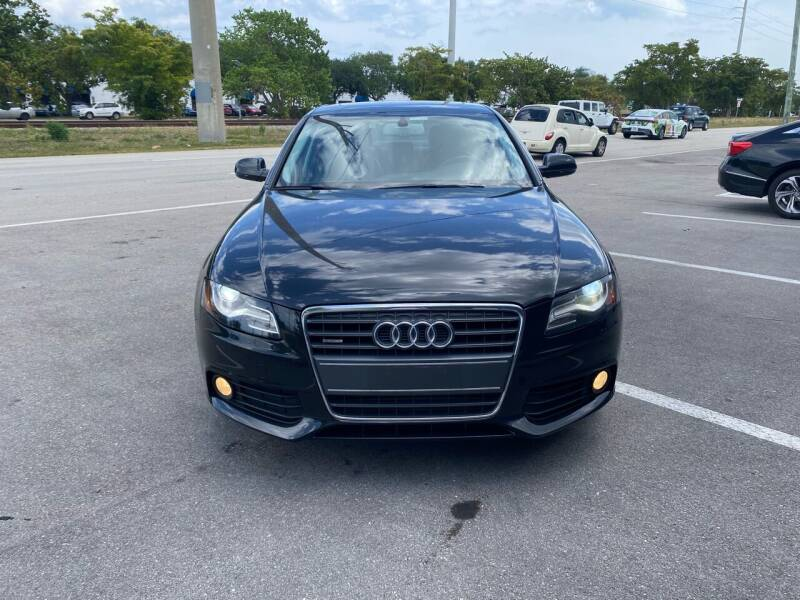 2011 Audi A4 for sale at UNITED AUTO BROKERS in Hollywood FL