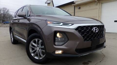 2020 Hyundai Santa Fe for sale at Prudential Auto Leasing in Hudson OH