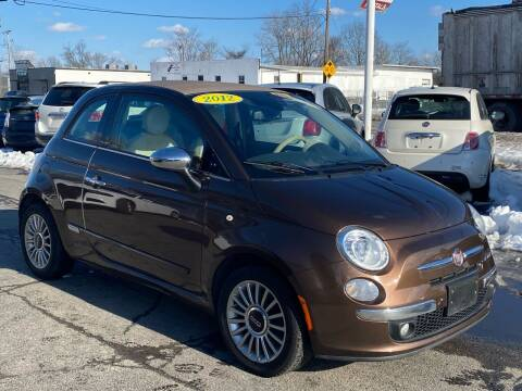 2012 FIAT 500c for sale at MetroWest Auto Sales in Worcester MA