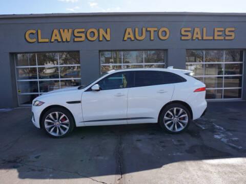 2017 Jaguar F-PACE for sale at Clawson Auto Sales in Clawson MI