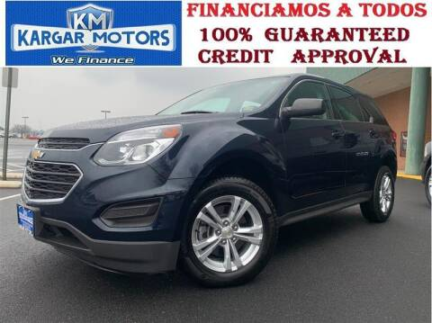 2017 Chevrolet Equinox for sale at Kargar Motors of Manassas in Manassas VA