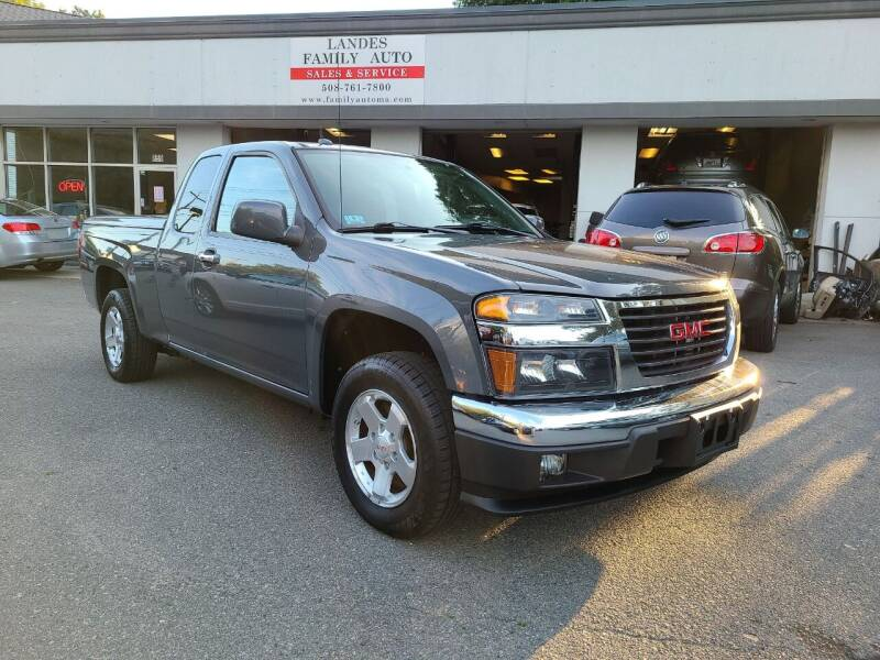 2012 GMC Canyon for sale at Landes Family Auto Sales in Attleboro MA