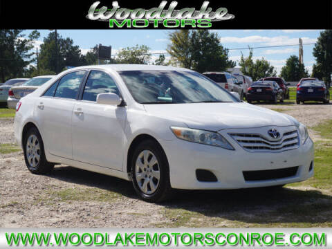 2010 Toyota Camry for sale at WOODLAKE MOTORS in Conroe TX