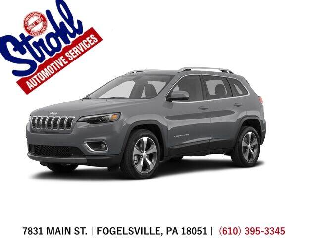 2020 Jeep Cherokee for sale at Strohl Automotive Services in Fogelsville PA