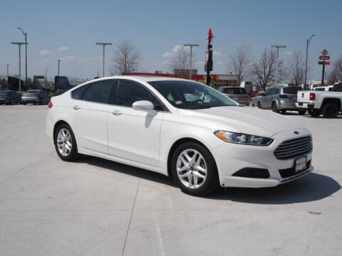 2015 Ford Fusion for sale at SIMOTES MOTORS in Minooka IL