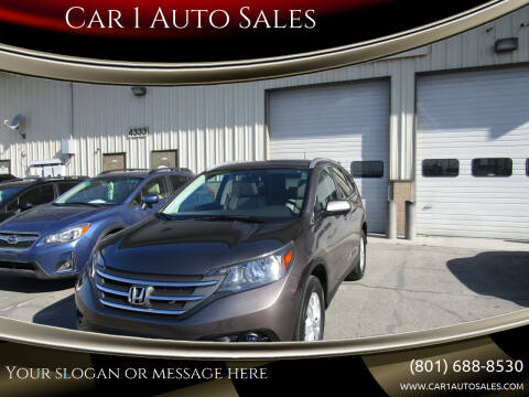 2013 Honda CR-V for sale at Car 1 Auto Sales in Murray UT