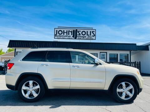 2011 Jeep Grand Cherokee for sale at John Solis Automotive Village in Idaho Falls ID