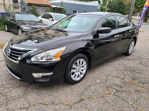 2014 Nissan Altima for sale at Devaney Auto Sales & Service in East Providence RI