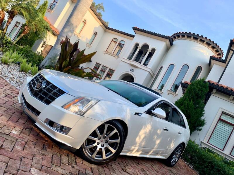 2012 Cadillac CTS for sale at Mirabella Motors in Tampa FL