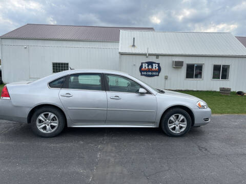 2014 Chevrolet Impala Limited for sale at B & B Sales 1 in Decorah IA