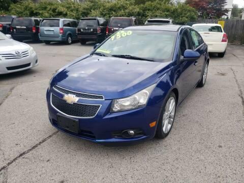 2012 Chevrolet Cruze for sale at TC Auto Repair and Sales Inc in Abington MA