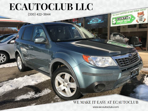 2009 Subaru Forester for sale at ECAUTOCLUB LLC in Kent OH