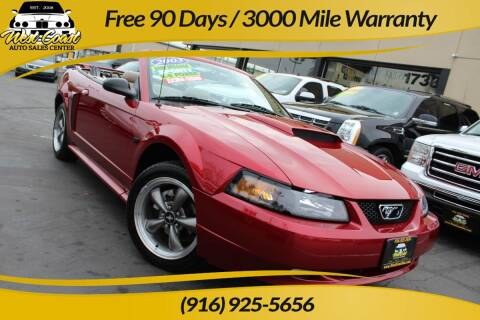 2003 Ford Mustang for sale at West Coast Auto Sales Center in Sacramento CA