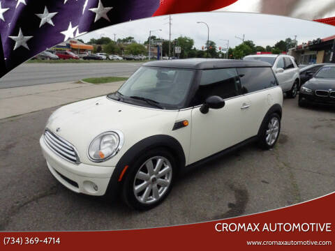 2009 MINI Cooper Clubman for sale at Cromax Automotive in Ann Arbor MI