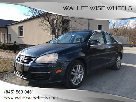 2007 Volkswagen Jetta for sale at Wallet Wise Wheels in Montgomery NY