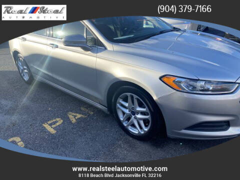 2013 Ford Fusion for sale at Real Steel Automotive in Jacksonville FL